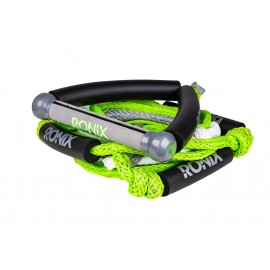 Bungee Surf Rope 25ft mit Handle - Green