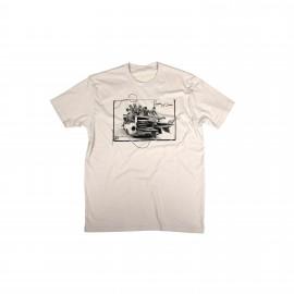 Surf Babe T-Shirt - Vintage Tan