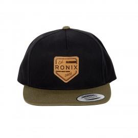 Forester - Snap Back Hat - Black / Green - Adjustable