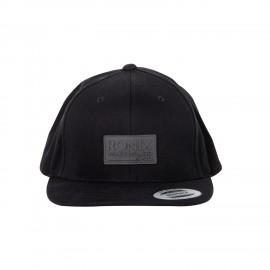 International - Snap Back Hat - Black - Adjustable