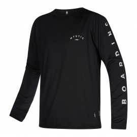 The One L/S Quickdry - black