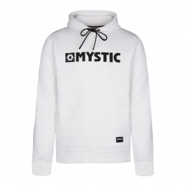 Brand Hood Sweat - White