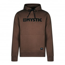 Brand Hood Sweat - Brown