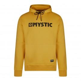 Brand Hood Sweat - Mustard