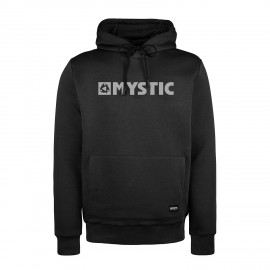 Brand Hood Sweat - Black