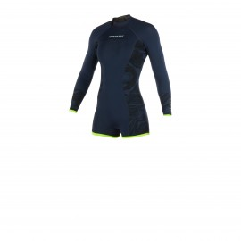 Diva Longarm Shorty 3/2mm Bzip navy/lime - M