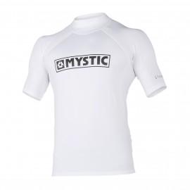 Star S/S Rashvest - White - M