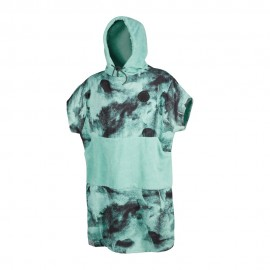 Poncho Junior - Black/Mint