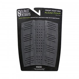 Slater Designs Front Foot Traction Pad - Algae Foam - black