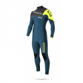 Majestic Fullsuit 5/3mm Front-Zip lime - M